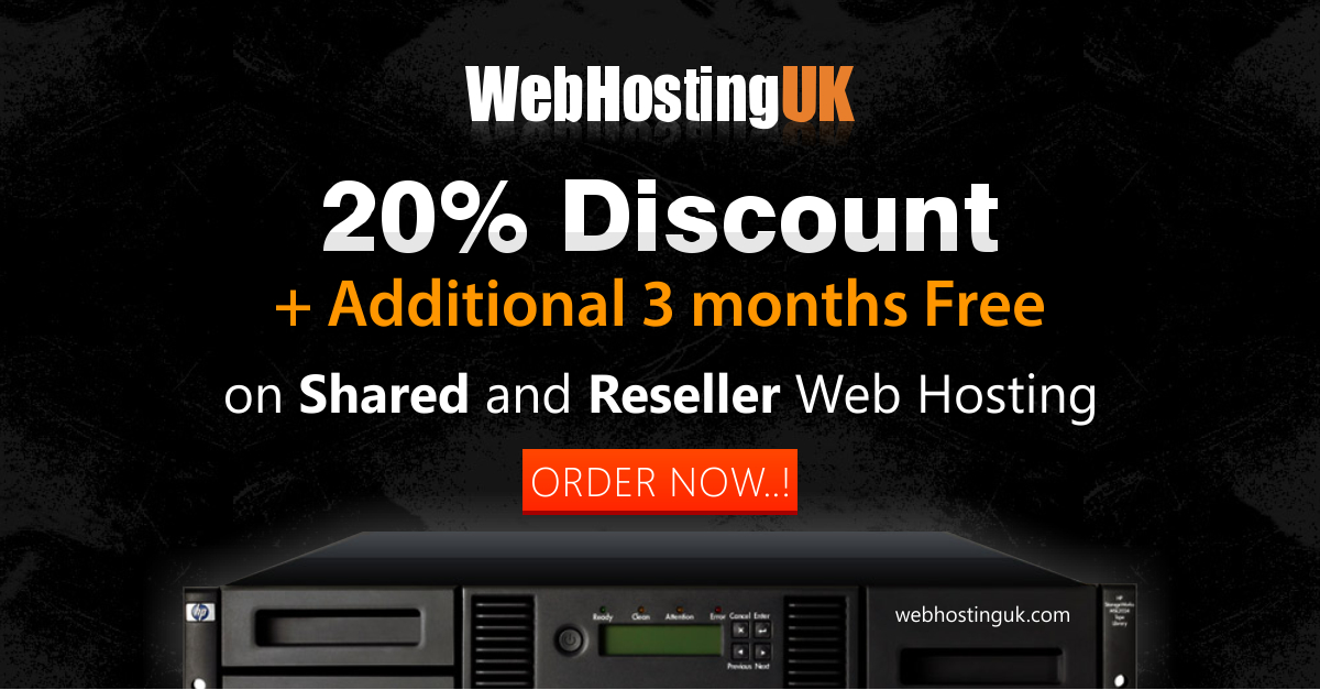 Web Hosting UK Offer